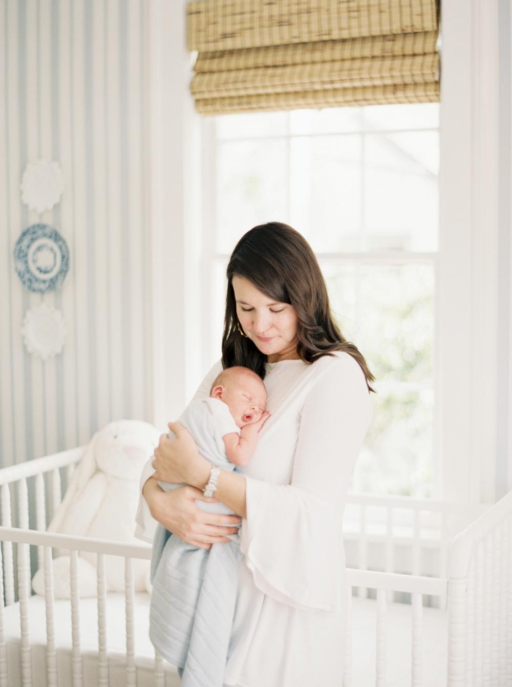 Atlanta Newborn Film Photographer